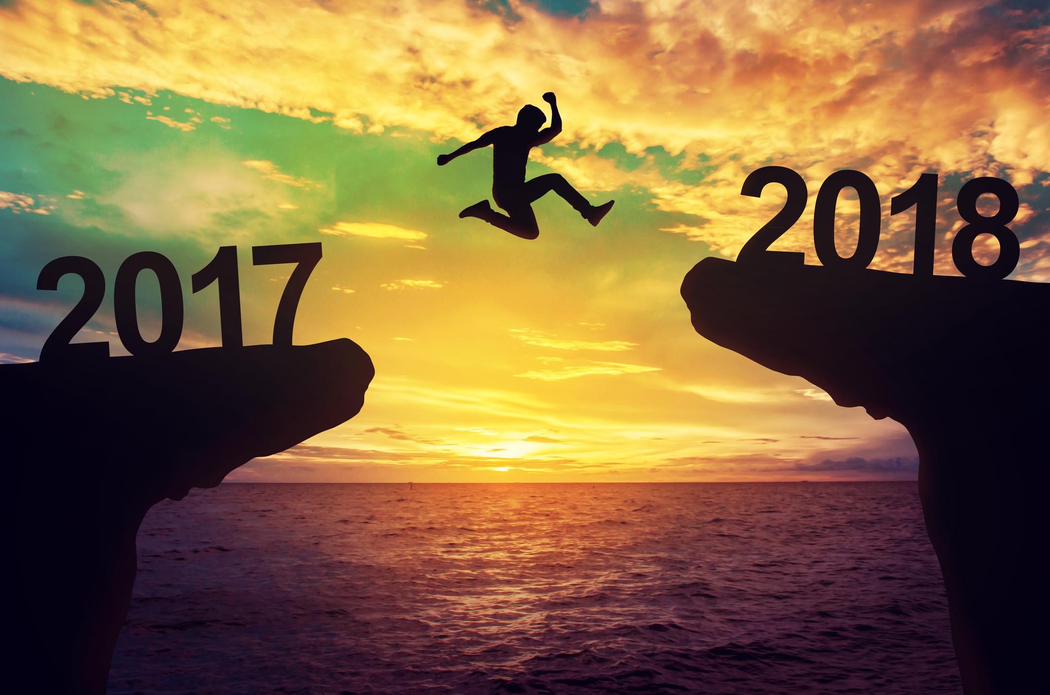 Good-Bye 2017, Hello 2018!