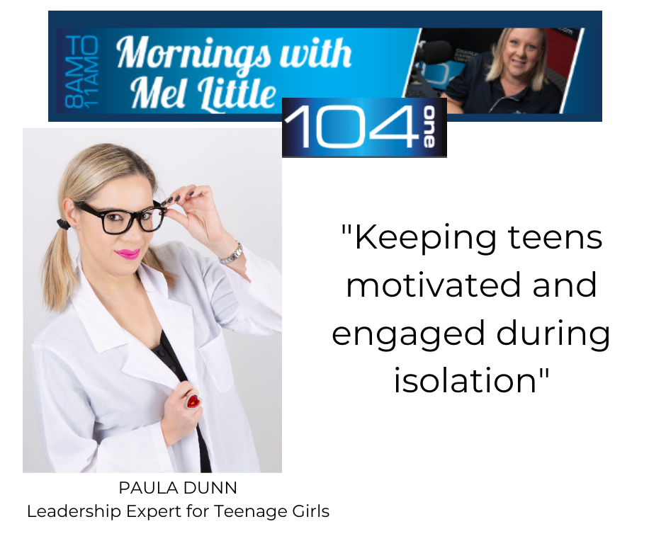"""Radio Commentary: """"Keeping Teens Motivated and Engaged during Isolation"""""""